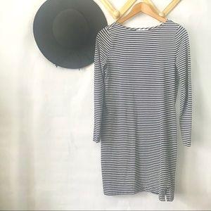 Vineyard Vines | Navy Striped T Shirt Dress XS